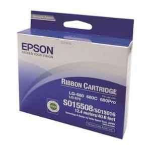 Epson 12.4m Pro Black SIDM Ribbon Cartridge, C13S015508