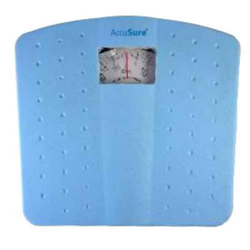 AccuSure ZZ 125kg Bathroom Manual Weighing Scale