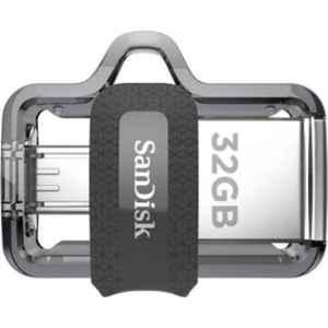 SanDisk Ultra Dual 32GB Black USB 3.0 OTG Pendrive, SDDD3-032G-I35