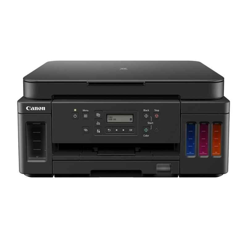 Canon G6070 Black All-in-One Wi-Fi Colour Ink Tank Printer with Auto-Duplex Printing & Networking