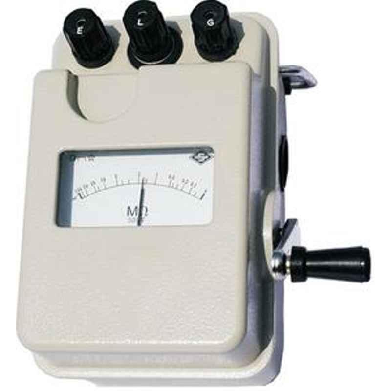 Rishabh Shanti iti-5020 Analog Insulation Tester 500 Volts iti-5020