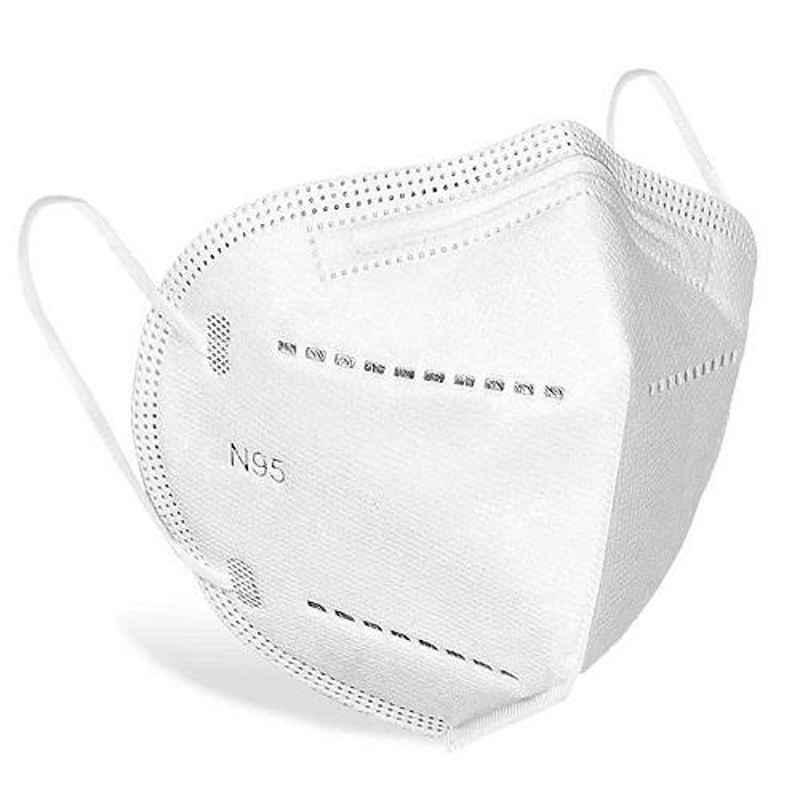 I Kall White 5 Layers N95 Reusable Face Mask (Pack of 3)