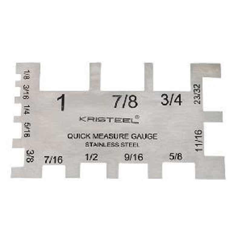 Kristeel Spindle Turner's Gauge, STG Range 1/8inch to 1inch