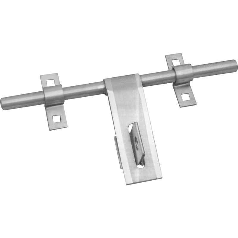 Smart Shophar 8 inch Stainless Steel Silver Mdx Aldrop, SHA40AL-MDX-SL08-P4 (Pack of 4)