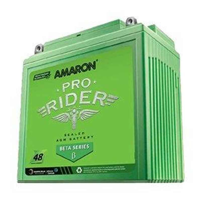 Amaron Beta Pro Rider 5Ah 12V Battery for Bike, AP-BTX50