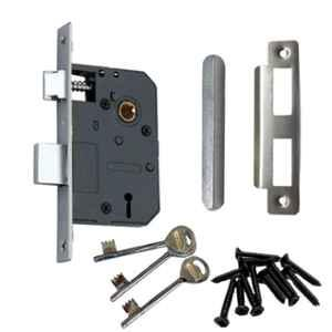 Atom Armour-1 6 Lever Finish Mortise Lock with 2 Keys