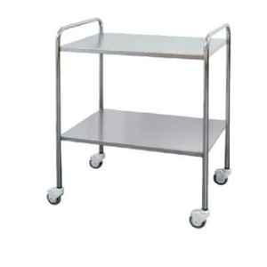 Aar Kay 36x24x32 inch 2 Shelves CRC Instrument Trolley