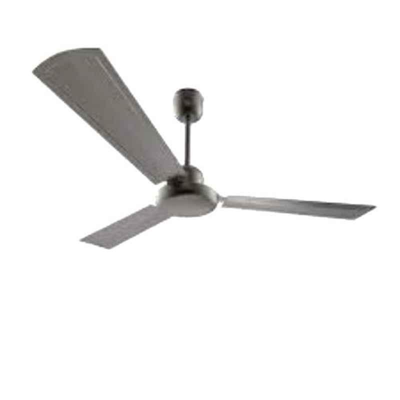 GM Spencer 75W Brush Steel Ceiling Fan, CFP480012BSEP, Sweep: 1200 mm