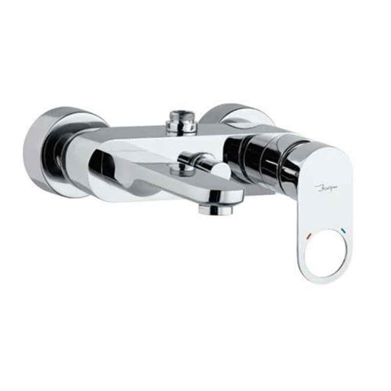 Jaquar Ornamix Prime Full Gold Single Lever Wall Mixer with Leg & Wall Flange, ORP-GLD-10115PM
