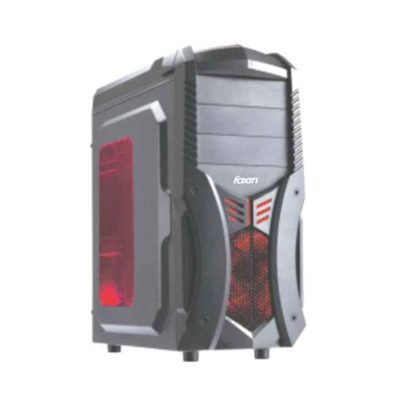 Foxin FC-6605 Aesthetic Black Mid Tower Gaming Cabinet