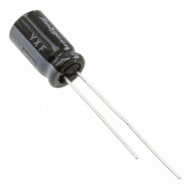 RUBYCON 47µF 50V Radial Aluminum Electrolytic Capacitor, 50YXF47MEFCT16.3X11