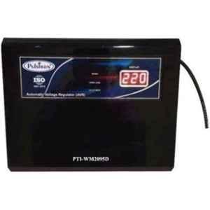 Pulstron PTI-WM2095D 2kVA 90-290V Single Phase Black Automatic Mainline Voltage Stabilizer