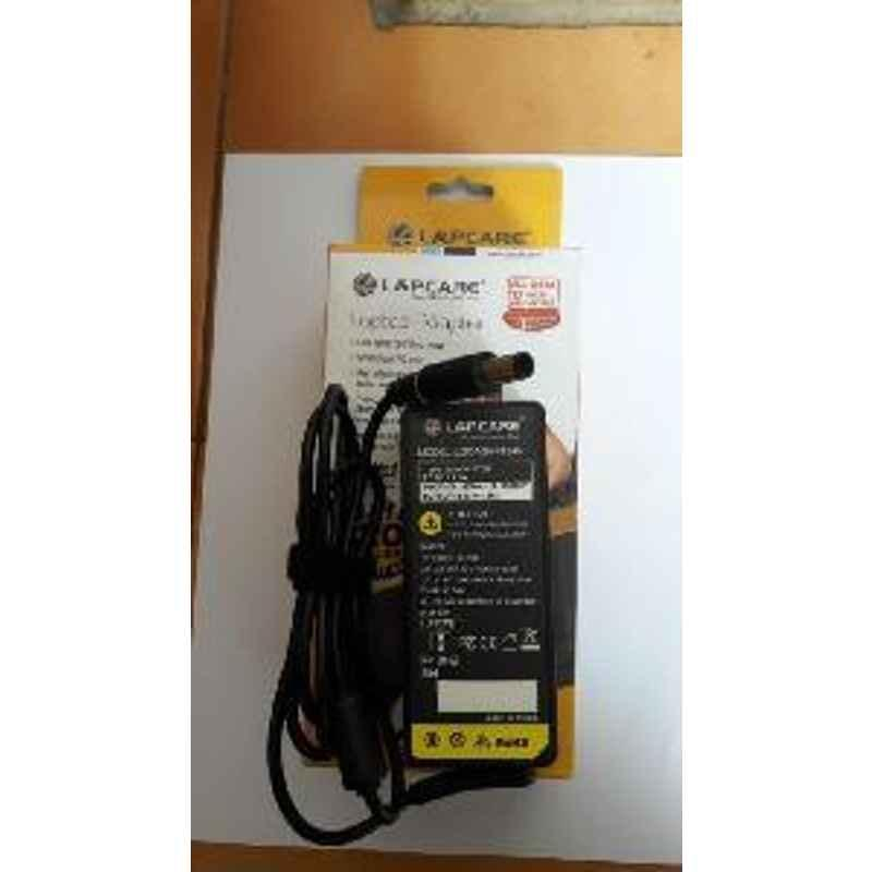 Lapcare Dell 65W Compatible 19.5 3.34 Laptop Power Adapter
