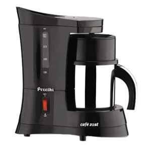 Preethi Cafe Zest 450W Black Drip Coffee Maker, CM210