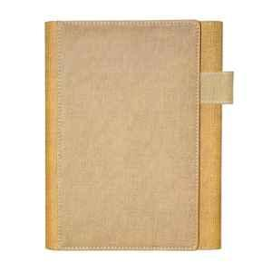 Stolt Scout Jute Cover Business Diary