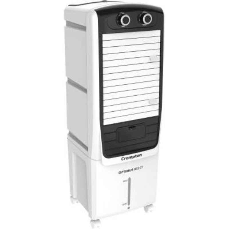 Crompton ACGC-Optimus Neo 27 130W 27L White & Black Tower Air Cooler