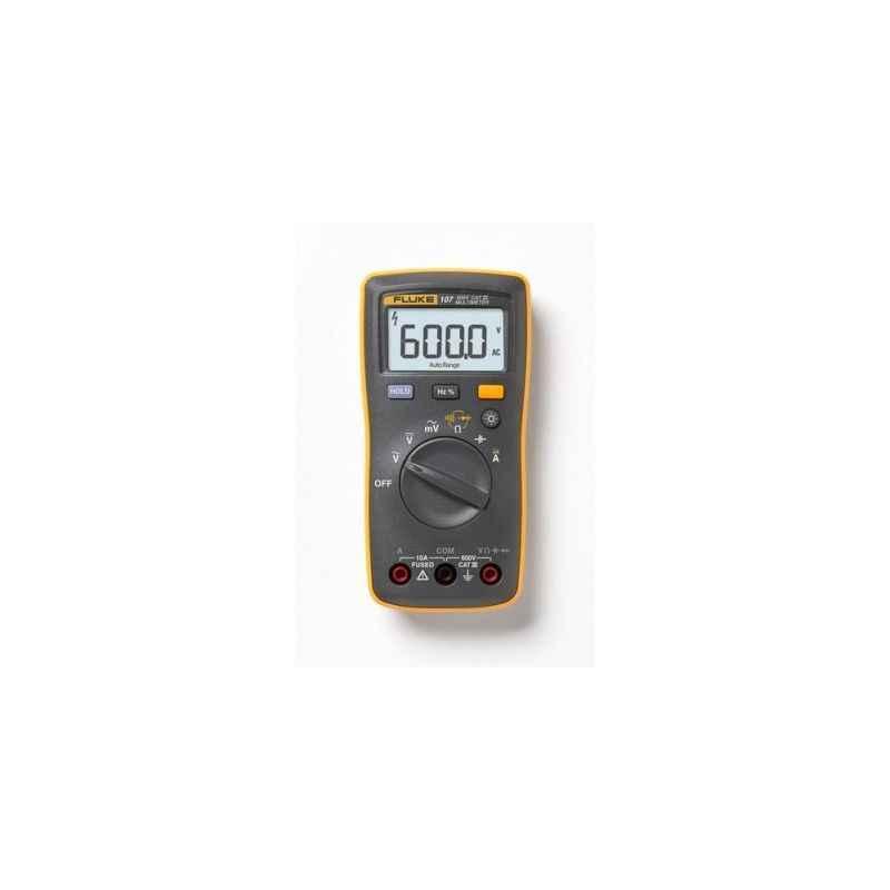 Fluke 107 600V AC/DC Palm-Sized Digital Multimeter