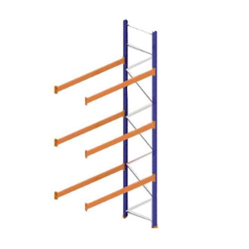 Godrej Ground Plus 3 Layers Steel Selective Pallet Racking, Max Load Capacity: 6000kg, Add on Unit: 5000x2700x800mm (HxWxD)