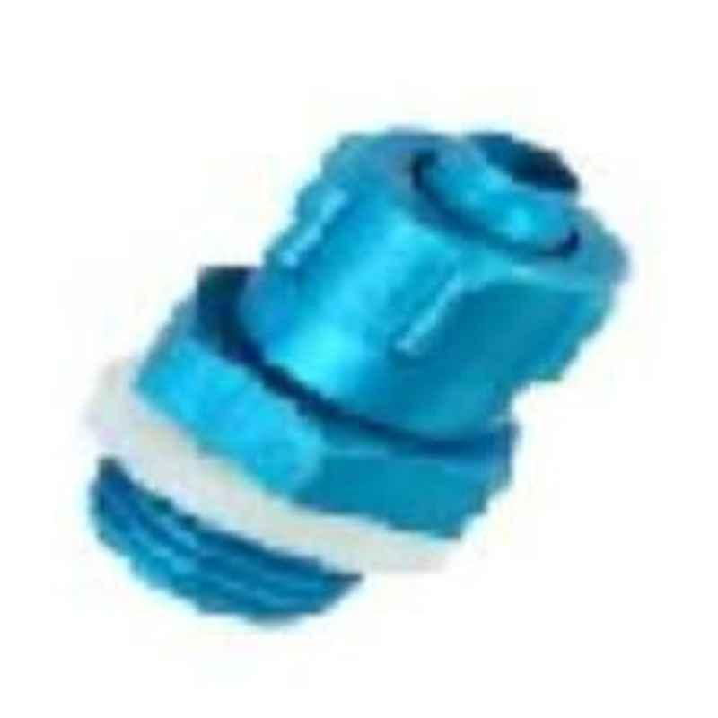 VAC 3/8 Inch Aluminium Male Connector With Sealing Rings - MC 6-03
