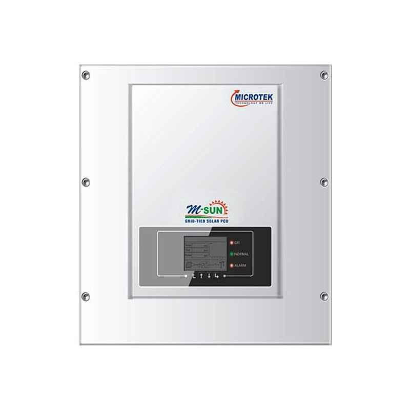 Microtek M-Sun 11kW Solar Grid-Tied System, GT11KW