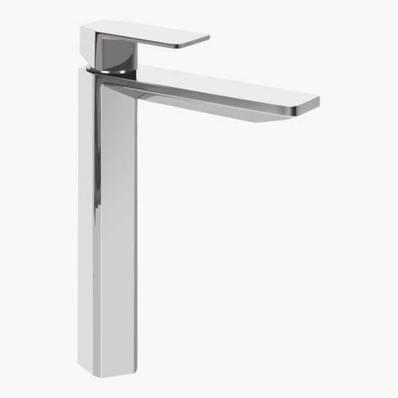 Kerovit Qua 280mm Silver Chrome Finish Tall Pillar Tap, KB1011002
