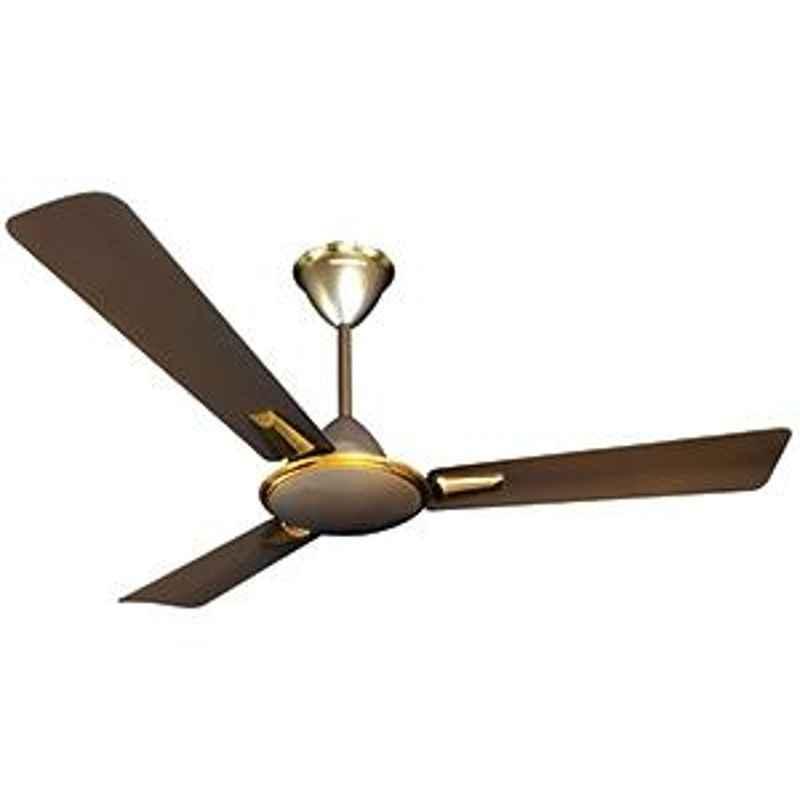 Crompton Aura Metallic Shades Dusky Brown 3 blades ceiling fan