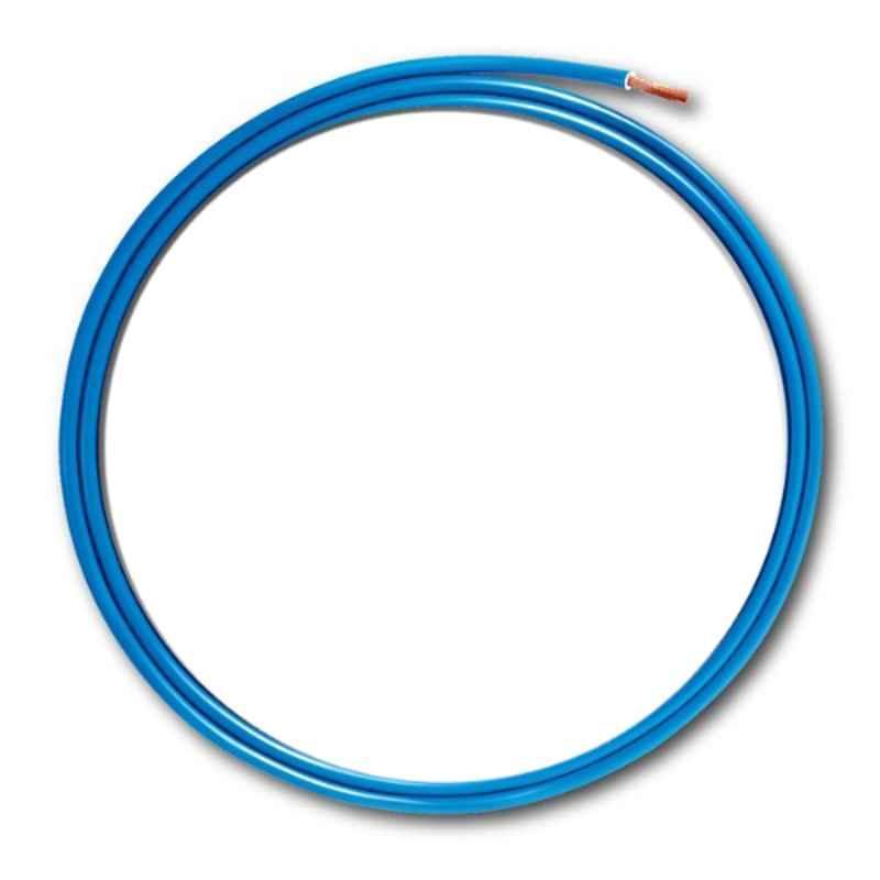 KEI 1.5 Sqmm Single Core Homecab FR Blue Copper Unsheathed Flexible Cable, Length: 90 m