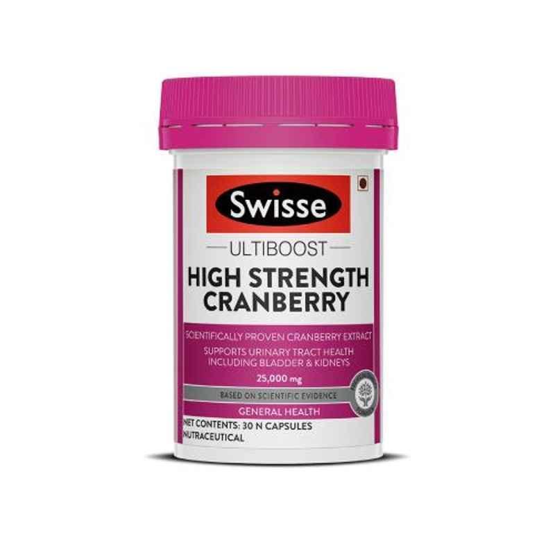 Swisse 30 Pcs Ultiboost High Strength Cranberry Capsules, HHMCH9539820302