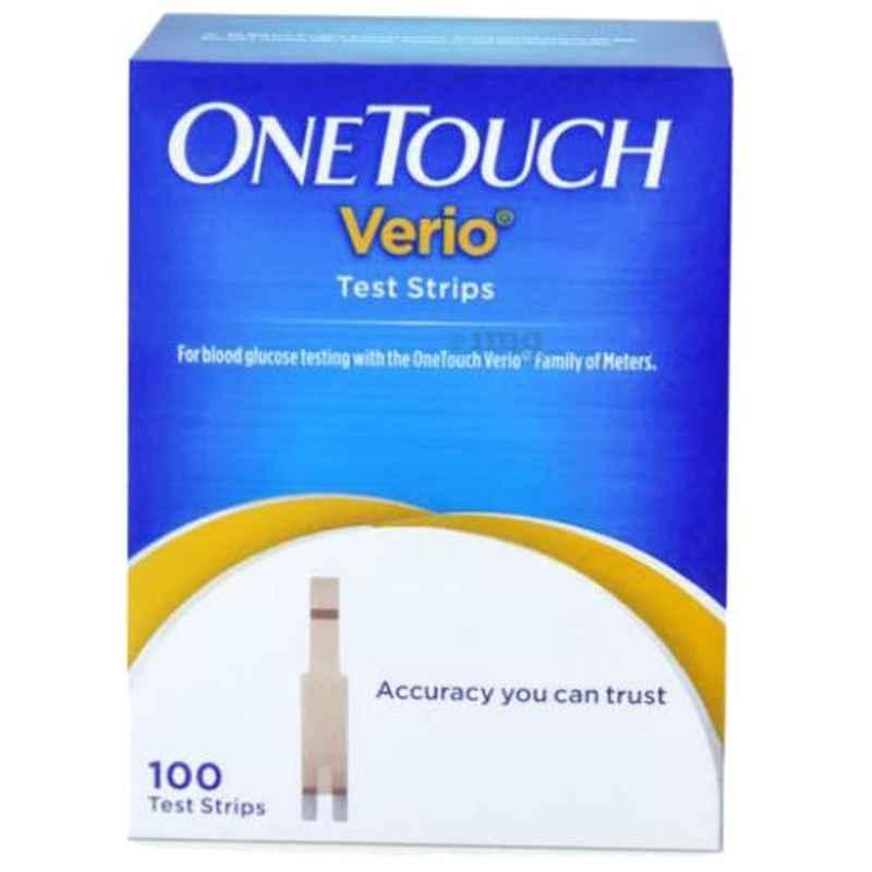 OneTouch Verio 100 Pcs Flex Test Strips