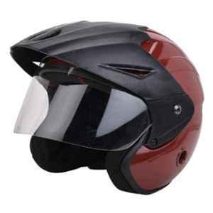 GTB NANO Medium Size Red Full Face Motorcycle Helmet