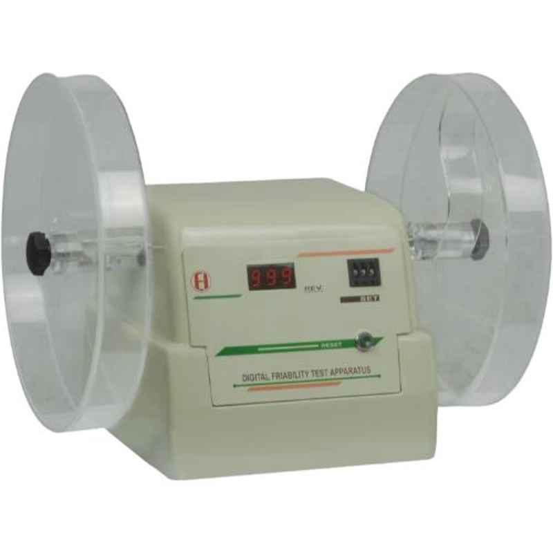 Electronics India Digital Friability Test Apparatus (Double Wheel), 902