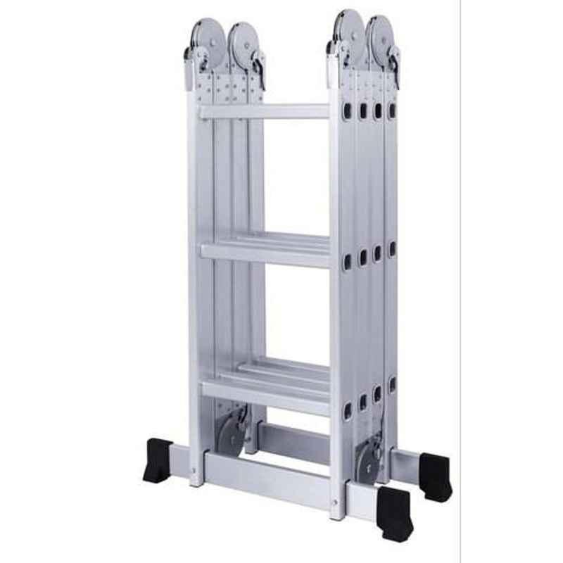 Bigapple 150kg 4x3 Step 12 ft Aluminium Multipurpose Ladder, BA-353