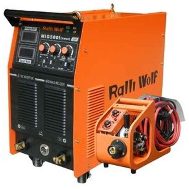 Ralli Wolf MIG 500 IJ 3 Phase Mig/Mag Welder Machine