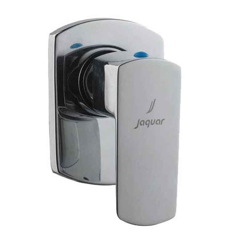 Jaquar Kubix Prime Black Chrome Quarter Turn Concealed Stop Cock & Flush Cock Kit, KUP-BCH-35083PM