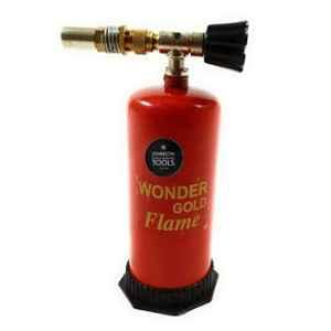 Johnson Tools Red Portable Gas Torch Gun