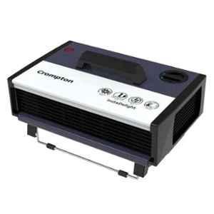 Crompton Insta Delight 2000W Black Fan Circulator Room Heater with 3 Heat Settings