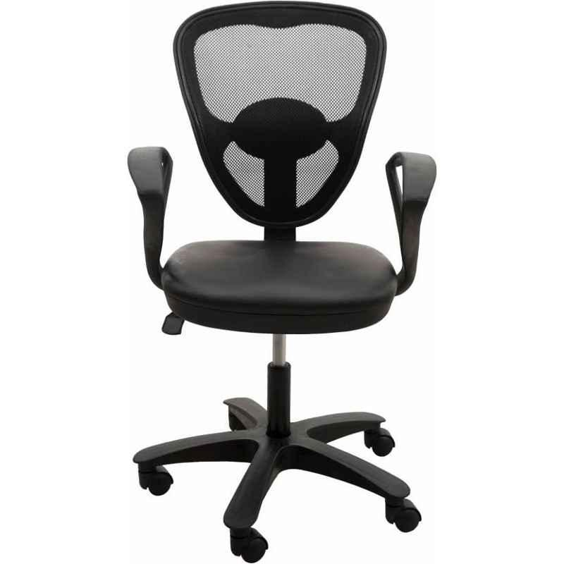Mezonite Net Back Leatherette Office Executive Chair (Pack of 2)