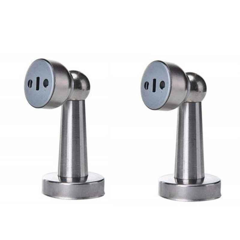 Nixnine SS Magnetic Door Stopper, NO-407_2PS (Pack of 2)