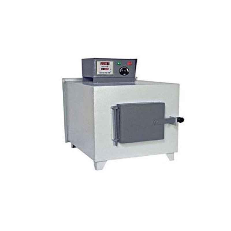 U-Tech 125x125x250mm 900-1000 deg C Rectangular Muffle Furnace, SSI-113