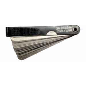 De Neers 0.03-1mm 26 Blades Feeler Gauge (Pack of 20)