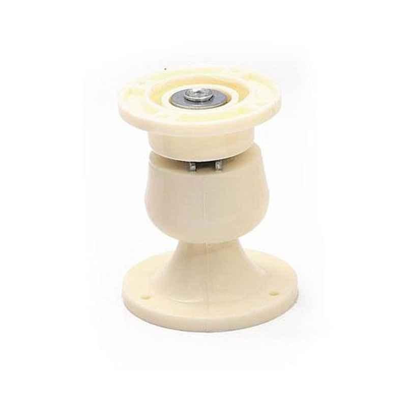 Nixnine Plastic Ivory Magnetic Door Stopper, NO-5_IVR_1PS