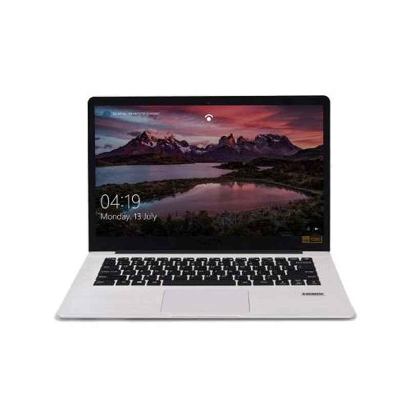AVITA PURA AMD Ryzen 3-3200U/8GB/256GB SSD/FHD Display/Windows 10 Home & 14 inch Silky White Laptop with 3 in 1 Grey Sleeve and 2 Years Warranty, NS14A6INU541-SWGYB