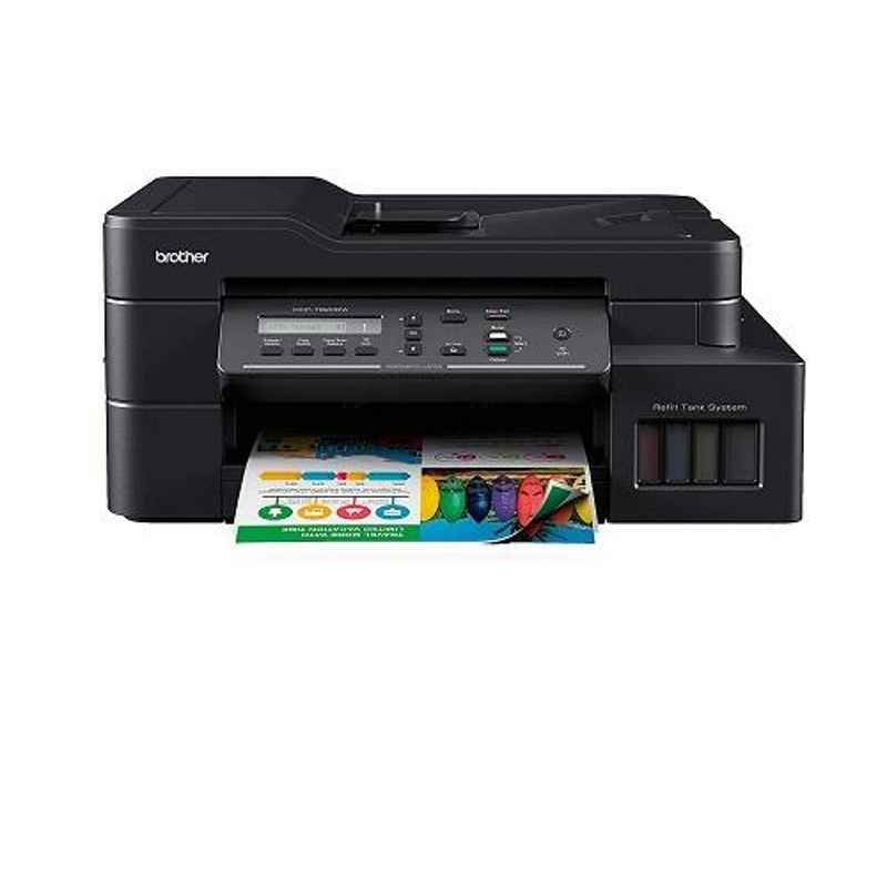 Brother DCP-T820DW All-in-One Refill Ink Tank Printer with Wi-Fi & Auto Duplex Printing