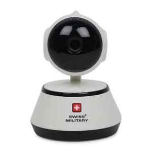 Swiss Military White 360 deg Rotatable Web Camera, CAM2