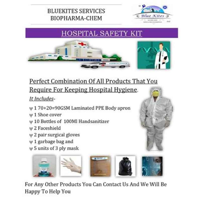 Bluekites Hospital Hygiene Kit
