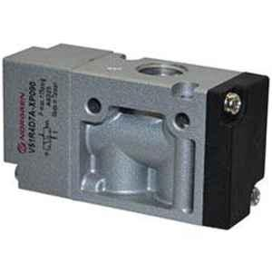 Norgren 1/4 inch Solenoid Actuated & Pilot Operated Spool Valve, V51B4D7A-XA090