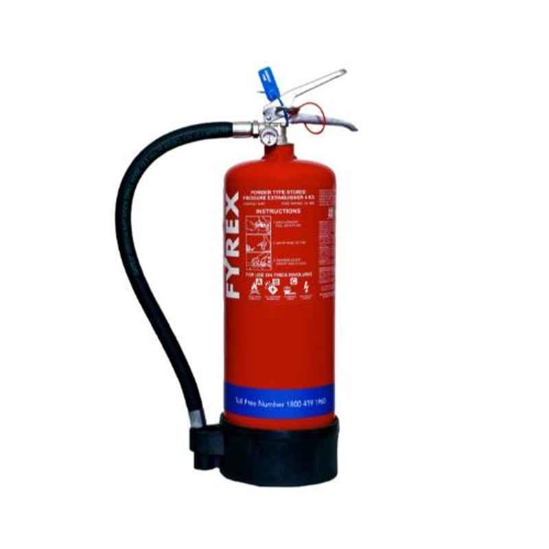 Fyrex Stored Pressure MAP 50 4kg ABC Fire Extinguisher, F0002
