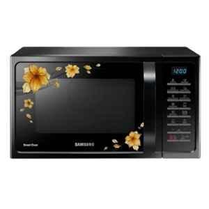 Samsung 28L 1400W Black Convection Microwave Oven, MC28H5025QB