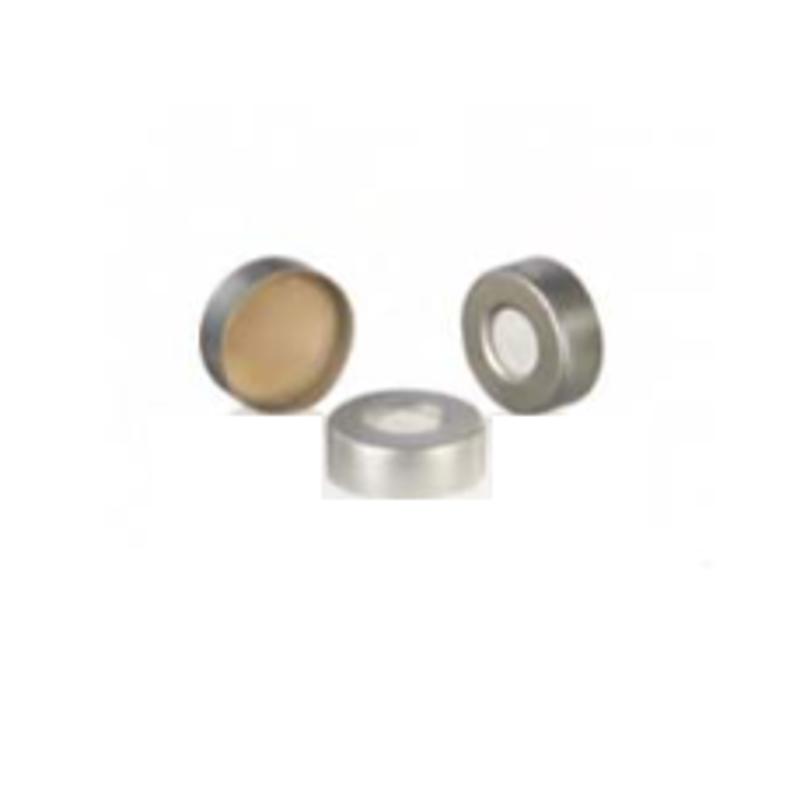 Borosil 100 Pcs 20mm Clear Headspace GC Vial Cap, CS000020ASC051 (Pack of 10)