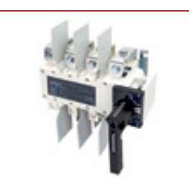Socomec 1250A 4Pole Kit Type 1 Open Execution Manual Transfer Switch Equipment, 41K14120A
